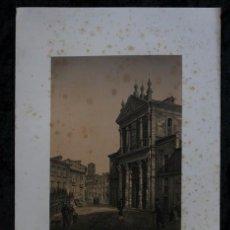 Arte: IGLESIA DE LAS ANGUSTIAS - VALLADOLID - LITOGRAFIA ORIGINAL EPOCA - PARCERISA - 1861 - 32X23CM. Lote 97580051