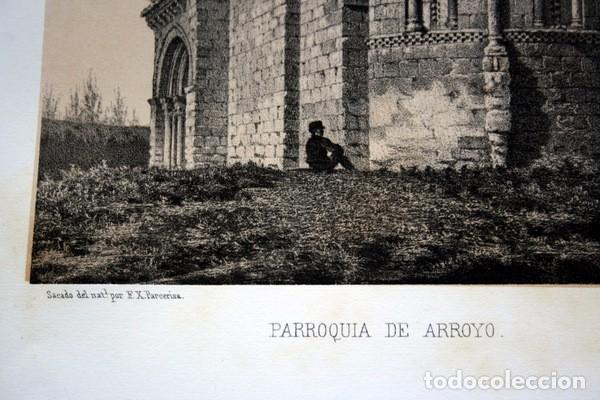 Arte: IGLESIA DE ARROYO DE LA ENCOMIENDA - VALLADOLID - LITOGRAFIA ORIGINAL EPOCA - PARCERISA - 1861 - 31 - Foto 2 - 97605119