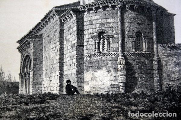 Arte: IGLESIA DE ARROYO DE LA ENCOMIENDA - VALLADOLID - LITOGRAFIA ORIGINAL EPOCA - PARCERISA - 1861 - 31 - Foto 3 - 97605119