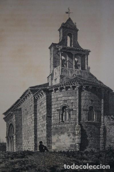 Arte: IGLESIA DE ARROYO DE LA ENCOMIENDA - VALLADOLID - LITOGRAFIA ORIGINAL EPOCA - PARCERISA - 1861 - 31 - Foto 4 - 97605119