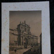 Arte: CATEDRAL DE VALLADOLID - VALLADOLID - LITOGRAFIA ORIGINAL EPOCA - PARCERISA - 1861 - 29.5X23CM. Lote 97606831