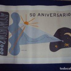 Arte: (ANT-170912)LITOGRAFIA DEL 50 ANIVERSARIO ANNAPURNA 2000 - FIRMA ORIGINAL JAVIER MARISCAL - 63 / 100. Lote 98116475