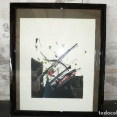 Arte: LITOGRAFIA DEL PINTOR VARGAS ,( BILBAO)TIRADA LIMITADA CON NUMERO. Lote 98371807