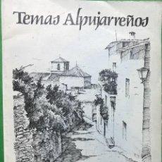 Arte: TEMAS ALPUJARREÑOS POR HIPÓLITO LLANES - GRANADA - CARPETA CON 6 LAMINAS - AÑO 1982. Lote 98584827