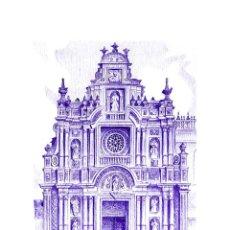 Arte: IMPRESIÓN DIGITAL (TIPO LITOGRAFÍA). -CARTUJA DE JEREZ - CÁDIZ -. AUTOR: MIGUEL ALFARO. Lote 254607760