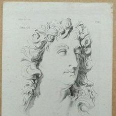 Arte: LITOGRAFÍA DE LUIS XIV, DESPUÉS DE HABRAHAM BOSSÉ, PARÍS 1890. PLANELLA, BARCELONA. Lote 99676663