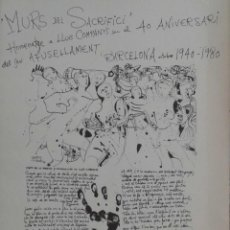 Arte: LITOGRAFIA DE ARMAND CARDONA TORRANDELL. (VILANOVA I LA GELTRÚ 1928-1995) FIRMADA A LÁPIZ. Lote 100326035