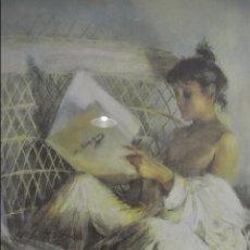 Arte: CUADRO ENMARCADO. LITOGRAFÍA, FIRMADA Y NUMERADA. Lote 101028951