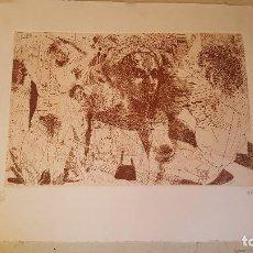 Arte: LITOGRAFIA DE ARTIGAU 79.69/100. Lote 101684955