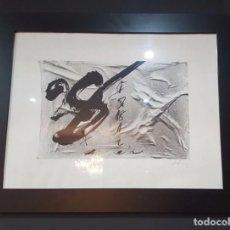 Arte: LITOGRAFÍA NUMERADA Y ENMARCADA DE ANTONI TÀPIES. Lote 102005423