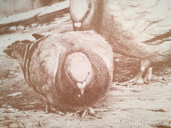 Arte: Litografìa , Obra exclusiva y limitada FIRMADA--DESCONOZCO AUTOR !!! AÑOS 80 - Foto 3 - 102227815