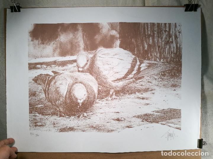 Arte: Litografìa , Obra exclusiva y limitada FIRMADA--DESCONOZCO AUTOR !!! AÑOS 80 - Foto 7 - 102227815
