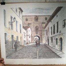 Arte: LITOGRAFÌA , OBRA EXCLUSIVA Y LIMITADA FIRMADA--DESCONOZCO AUTOR !!! COVARRUBIAS AÑOS 80. Lote 102231379