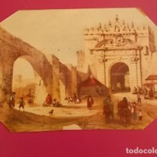 Arte: ANTIGUA Y INTERESANTE LITOFRAFIA COLOREADA . Lote 102825907