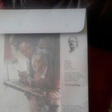 Arte: CARPETA CON 12 LAMINAS DE VICENTE SANCHEZ ALGORA. Lote 103051174