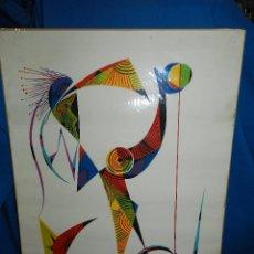 Arte: (M) LITOGRAFIA RAFAEL ALBERTI 74 , 138/300 , FIRMADA A LAPIZ , 70 X 50 CM, POCAS SEÑALES DE USO. Lote 103412627