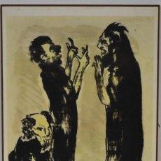 Arte: EMIL NOLDE -- LITOGRAFIA . Lote 103436815