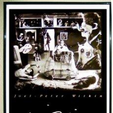 Arte: CARTEL DE EXPOSICION DE FOTOGRAFIA - JOEL PETER WITKIN -LAS MENINAS- 1988 EN REINA SOFIA 68X 43 CMS. Lote 152230594