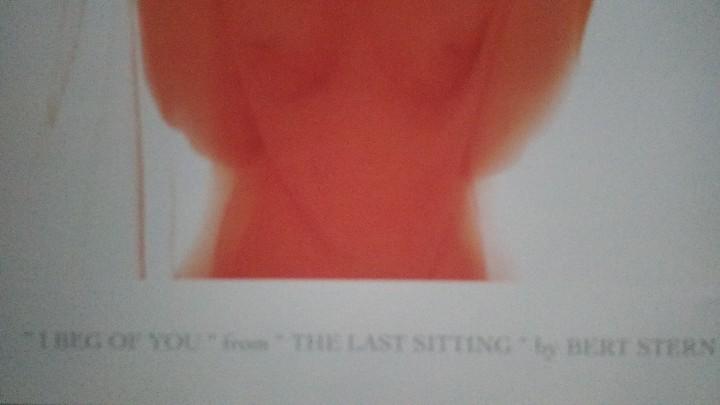 Arte: Bert Stern, cartel original de la exposición de Marilyn de 1997. - Foto 5 - 198631740