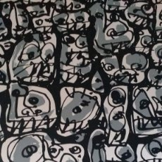 Arte: ANTONIO SAURA. CARTEL DE EXPOSICIÓN FIRMADO.. Lote 103883651