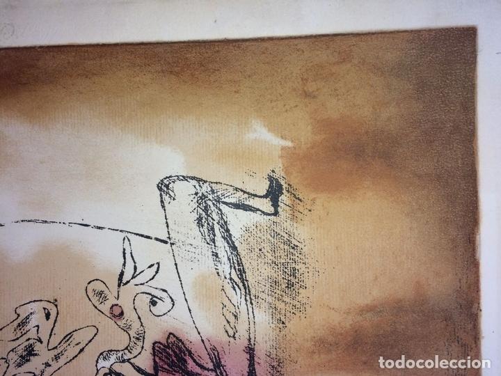 Arte: DAS PATHOS DER FRUCHTBARKEIT. LITOGRAFÍA A COLOR. 72-200. PAUL KLEE. SUIZA. 1921 - Foto 5 - 103936275