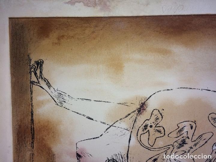 Arte: DAS PATHOS DER FRUCHTBARKEIT. LITOGRAFÍA A COLOR. 72-200. PAUL KLEE. SUIZA. 1921 - Foto 6 - 103936275