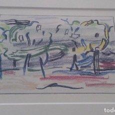 Arte: CURIOSA LITOGRAFIA ROY LICHTENSTEIN CAMINO AL BOSQUE ENMARCADA Y DE EDICION LIMITADA A 1200 UND. Lote 104026111