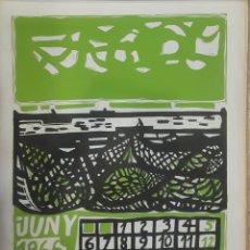 Arte: LITOGRAFÍA RAFOLS CASAMADA 1966. Lote 104175844