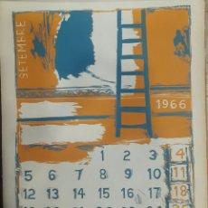 Arte: LITOGRAFÍA JOSEP GUINOVART 1966. Lote 104175998