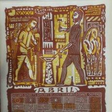 Arte: LITOGRAFÍA DE JOAN BROTAT FIRMADA A LÁPIZ. 1966. Lote 104176260