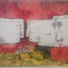 Arte: LITOGRAFIA EDUARDO ALCOY 50X70 CM NUMERADA 175/200 FIRMADA ORIGINAL. Lote 104215151