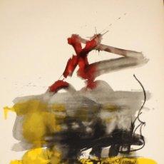 Arte: ANTONI TAPIES PUIG (1923 - 2012) LITOGRAFÍA AL MESTRES DE CATALUNYA. 1974.. Lote 104285303