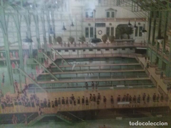 Arte: litografia sutro baths 1900 marilyn blacsdell 1977 - Foto 3 - 104294515