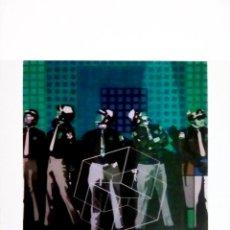 Arte: LAMINA DE OBRA DE - EQUIPO CRÓNICA - ESTRUCTURA CERRADA - TAMAÑO 34 X 50 CMS. Lote 104653527