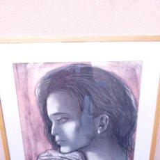Arte: LITOGRAFÍA MONTSERRAT GUDIOL.P.A.16/17.TIRADA MUY BAJA.FIRMADA Y DEDICADA. Lote 104991843