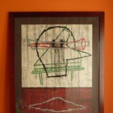 Arte: GRAN LITOGRAFÍA DE YAMANDÚ CANOSA FIRMADA Y NUMERADA 03/99 95X75 CM CON MARCO. Lote 105588307