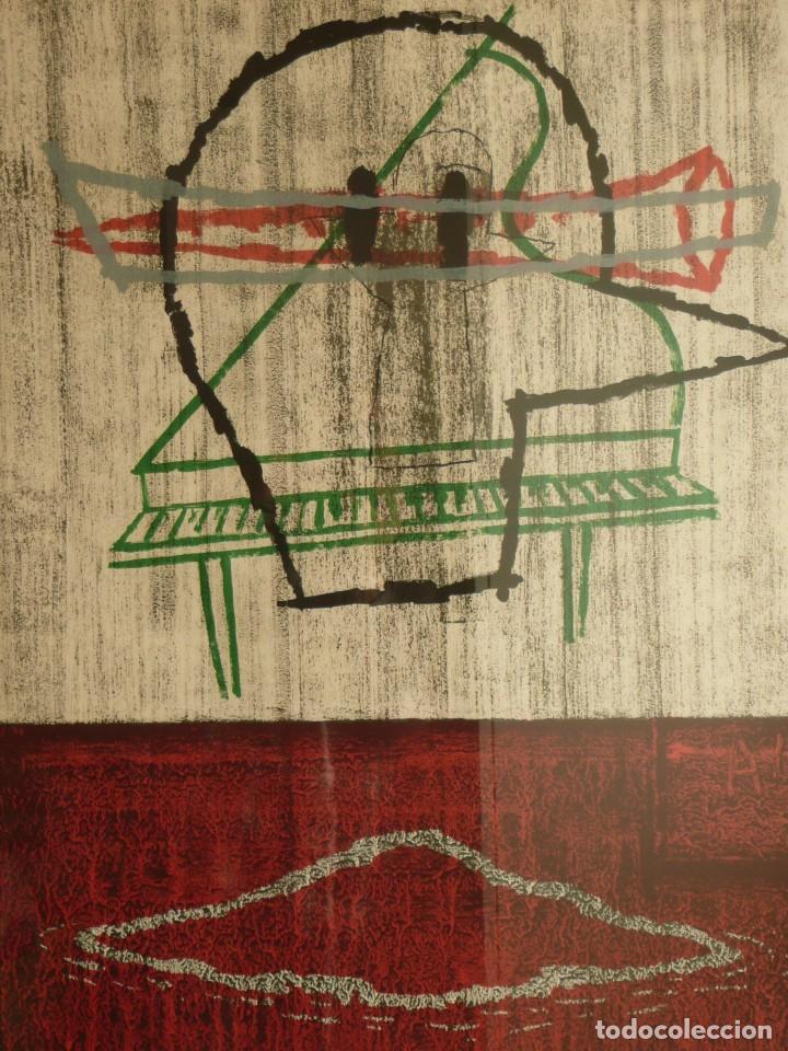 Arte: Gran Litografía de Yamandú Canosa firmada y numerada 03/99 95x75 cm con marco - Foto 2 - 105588307