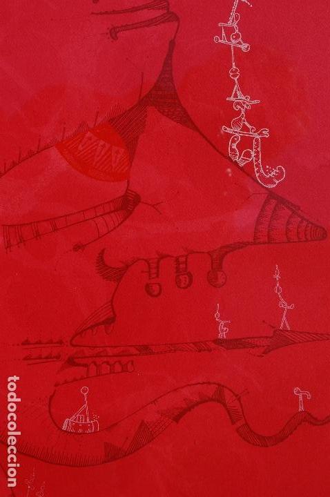 Arte: Joan Ponc (Barcelona 1927- Francia 1984). Litografía1977.56x76 firmado lápiz HC. Enmarcada perfecta. - Foto 4 - 105655499