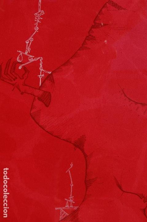 Arte: Joan Ponc (Barcelona 1927- Francia 1984). Litografía1977.56x76 firmado lápiz HC. Enmarcada perfecta. - Foto 5 - 105655499