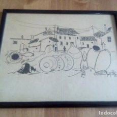 Arte: LITOGRAFÍA ORIGINAL DE ENRIQUE LLEDO DEL 65. Lote 106912415