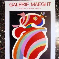 Arte: CARTEL DE - KANDINSKY - EXPOSICION EN GALERIA MAEGHT - PERIODO PARISIENSE 1934-1944 TAMAÑO 72X56 CMS. Lote 131872375