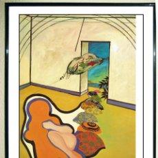 Arte: LAMINA DE - URCULO - DENTRO DE MI CASA , Y LA JOVEN DOLORES NAVEGANDO HACIA FORMENTERA 1964. EDITADA. Lote 107467831