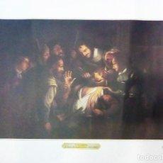 Arte: OBRA LITOGRAFIA - EL SACAMUELAS - DAVID RYCKAET EL JOVEN- ESCUELA FLAMENCA DEL SIGLO XVII - DE COLEC. Lote 107940119