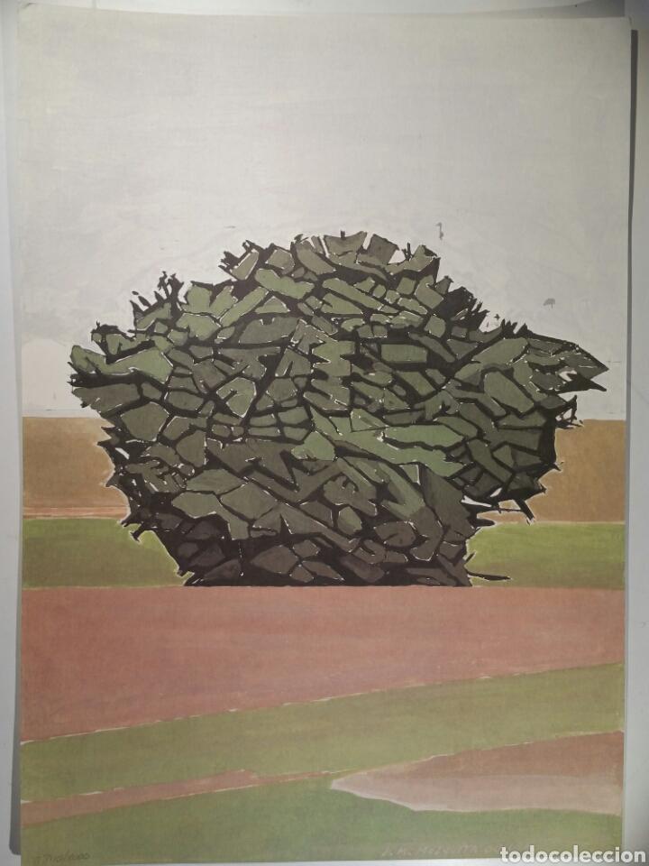 JOSÉ MARÍA MEZQUITA LITOGRAFÍA SIN TÍTULO 2000 (Arte - Litografías)