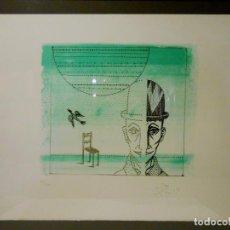 Arte: LITOGRAFÍA ORIGINAL DE JOAN PONÇ. TIRAJE NUMERADO DE 100 EJEMPLARES (63/100).. Lote 109447399