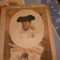 Arte: LITOGRAFIA DE LA LIDIA, 25 DE MAYO DE 1891. JOSE MARTINEZ PITO. Lote 109494971