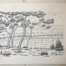 Arte: LITOGRAFIA DE GASPAR RIERA , NUMERADA 5/15.. Lote 110462515