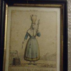 Arte: ANTIGUA LITOGRAFÍA DEL XIX. ALDEANA ALREDEDORES DE MAHÓN, MENORCA.. Lote 110474647