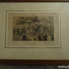 Arte: LITOGRAFÍA. VISITA DE S.S.M.M. A CIUDADELA, MENORCA EN SEPTIEMBRE DE 1860. Lote 110532199