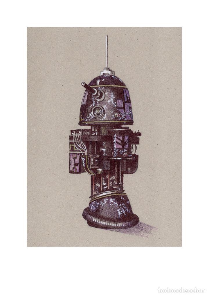 Arte: Fantástica colección Litografías -DROIDES ASTROMECÁNICOS-. STAR WARS - Foto 3 - 175844440